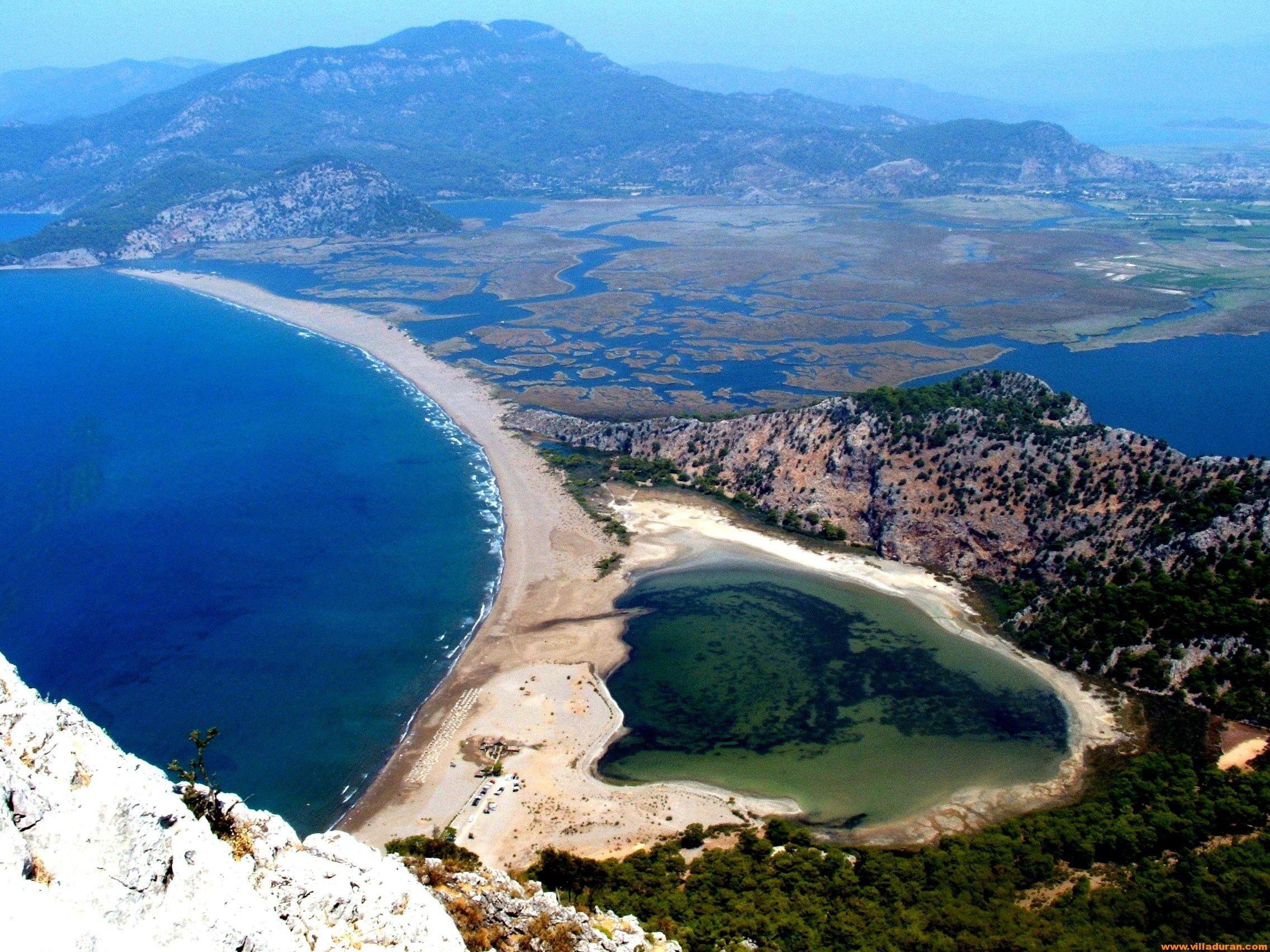 Delikli Ada ve İztuzu Plajı